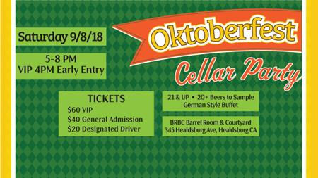 Bear Republic Brewing Company's Oktoberfest Cellar Party
