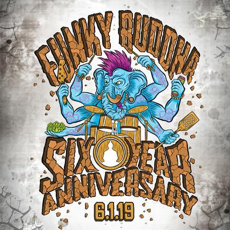 Funky Buddha Six Year Anniversary Party 6 1 2019 Brewbound Com