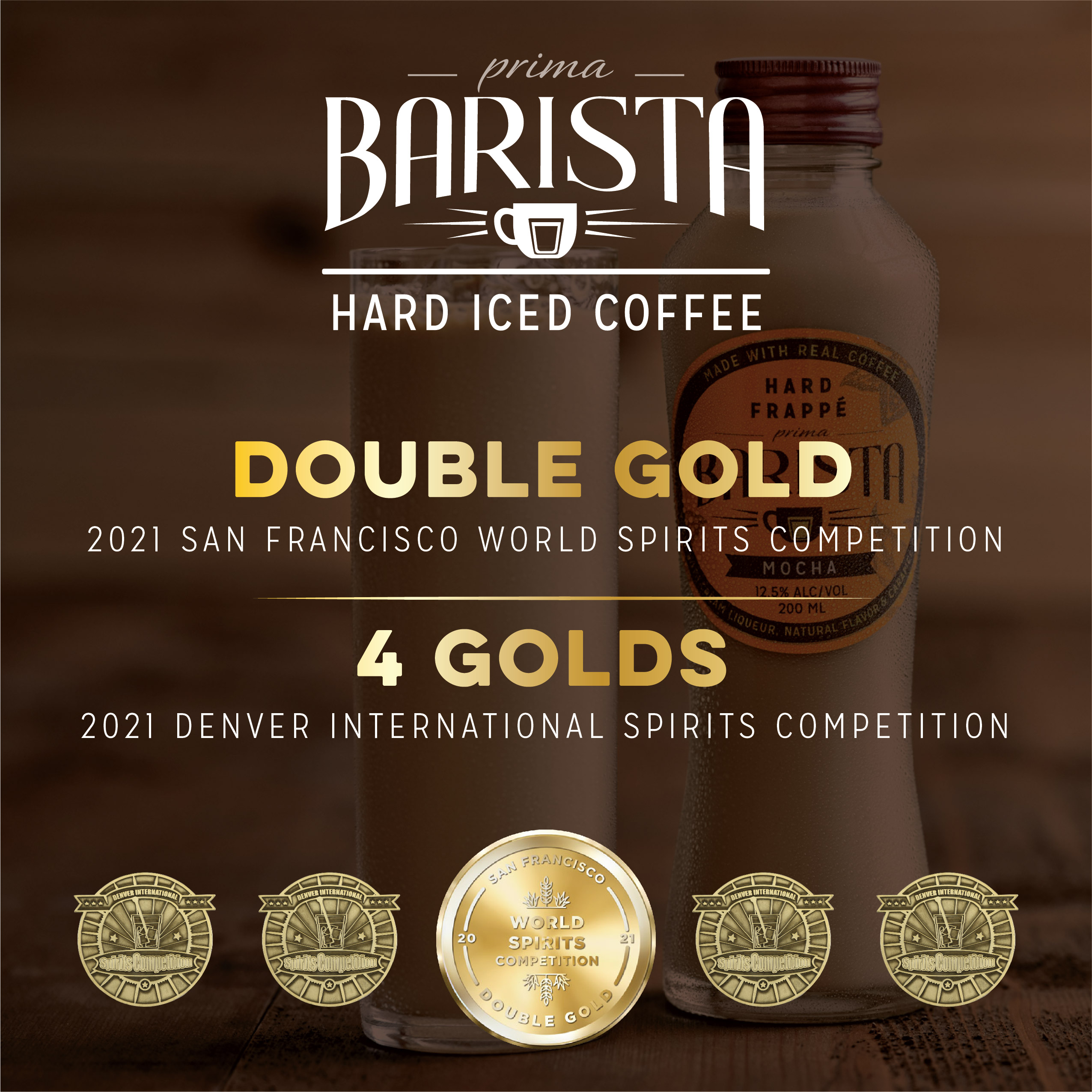 Award Winning Prima Barista Takes Home Gold for Taste and Design