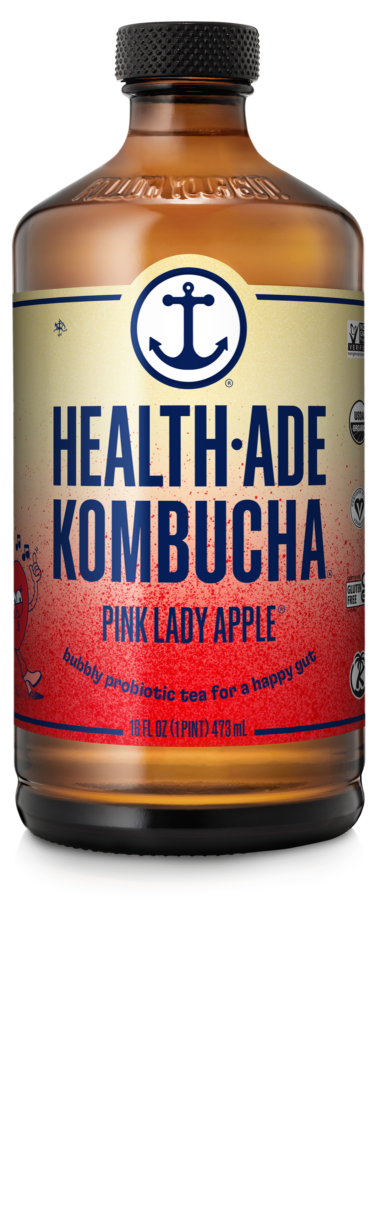 Health-Ade Kombucha Pink Lady Apple