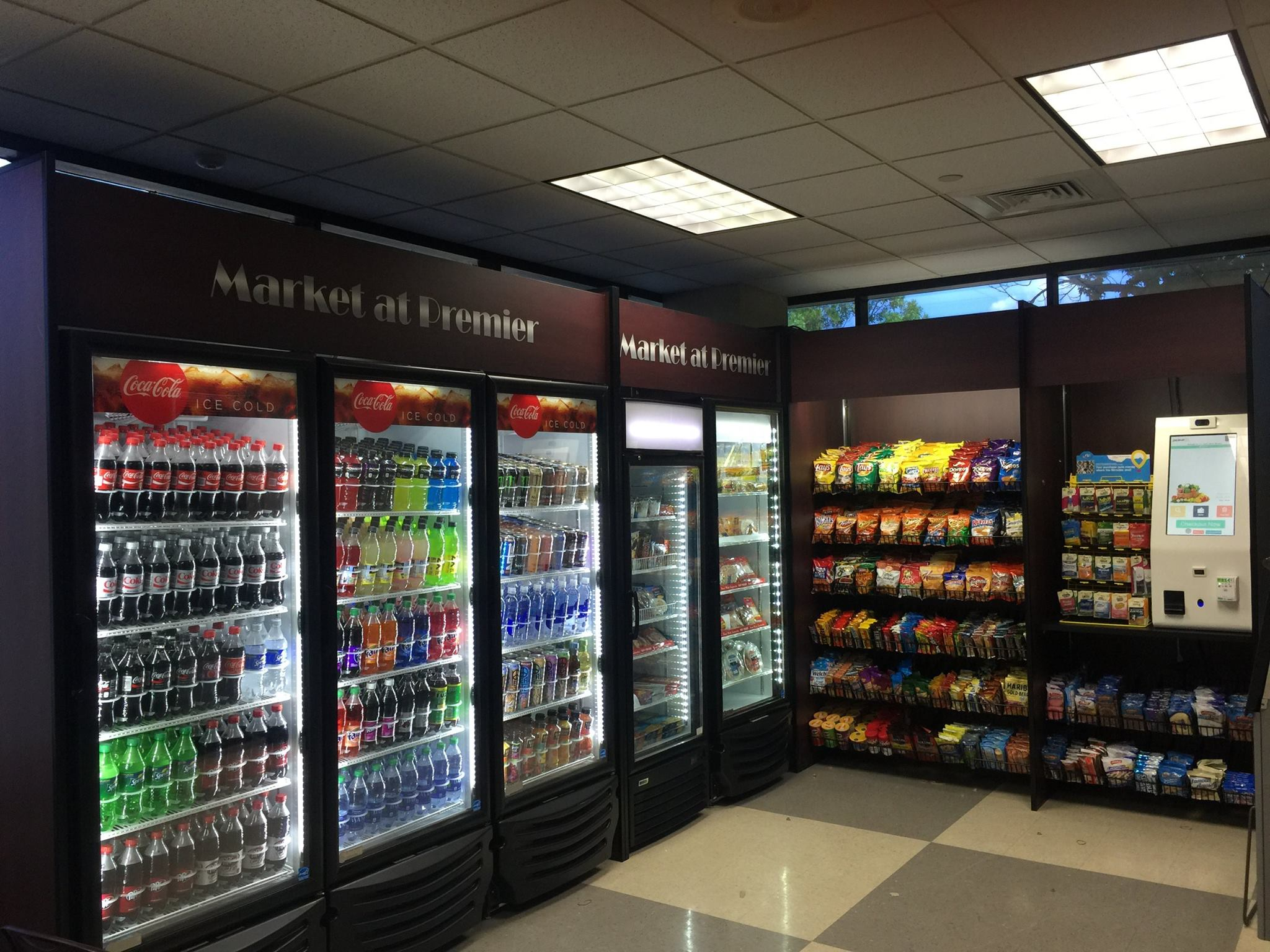 Micro Market Electronic Locking Coolers and Freezers