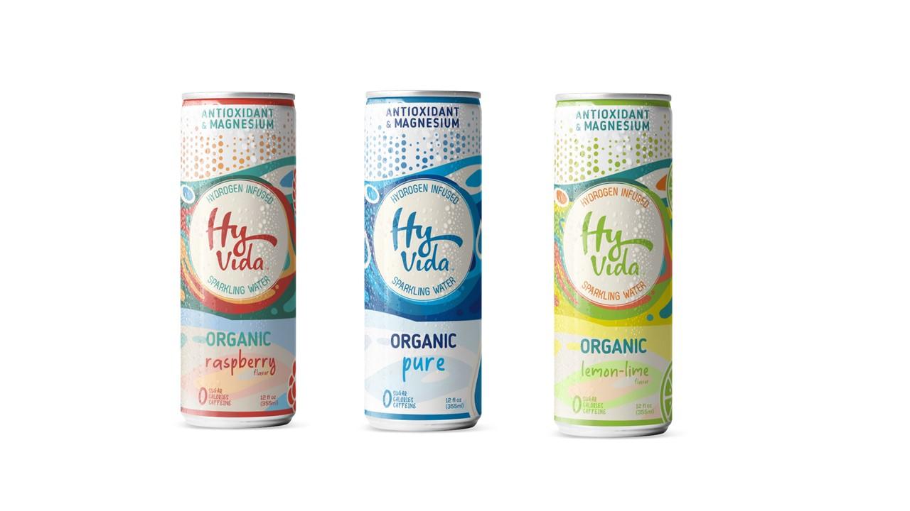 HyVIDA Antioxidant & Magnesium Infused Sparkling Water