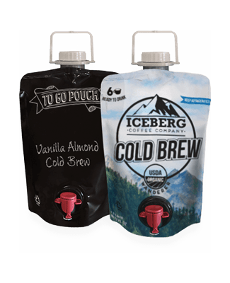 Cold brew coffee and To-Go pouches