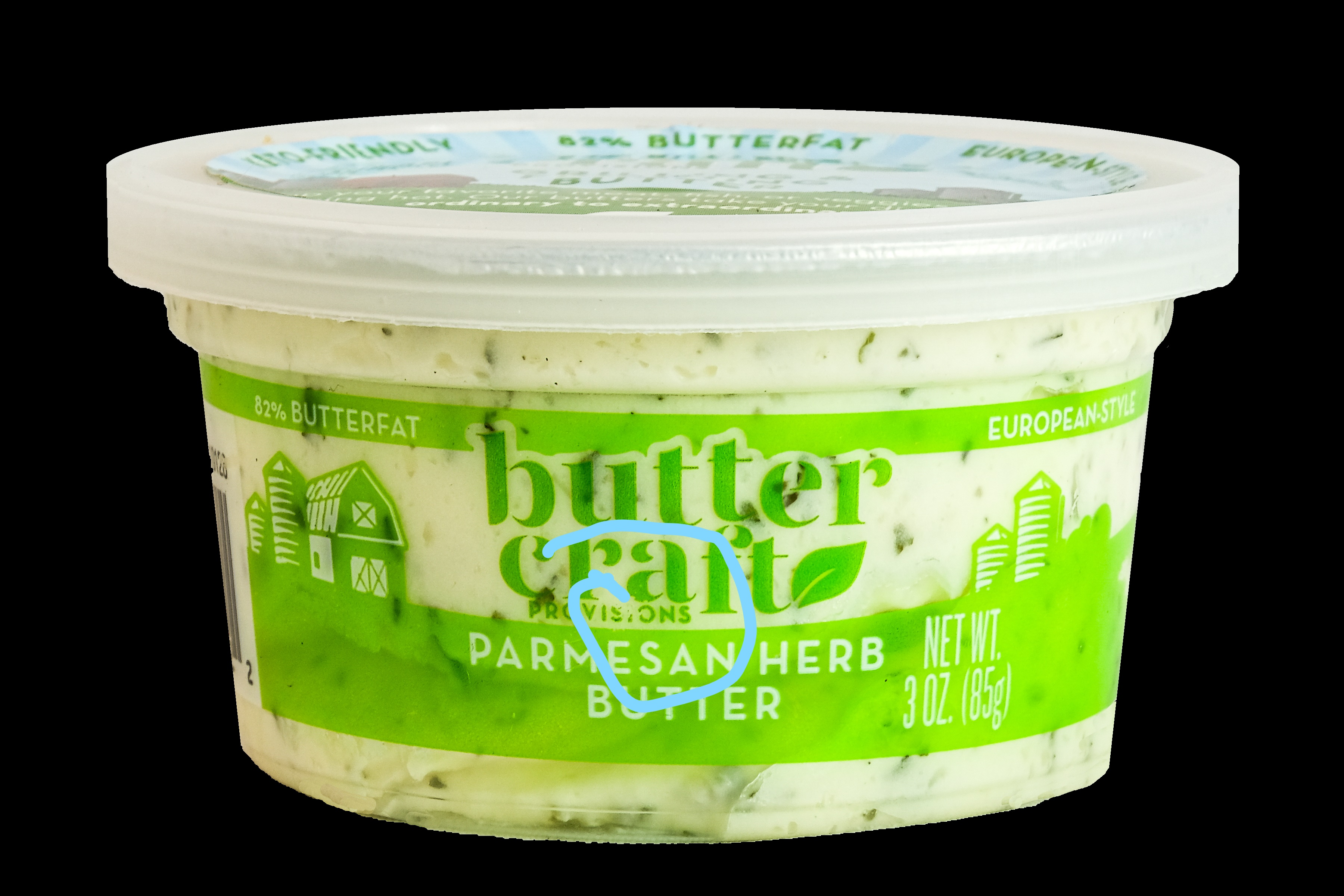 Parmesan Herb Butter