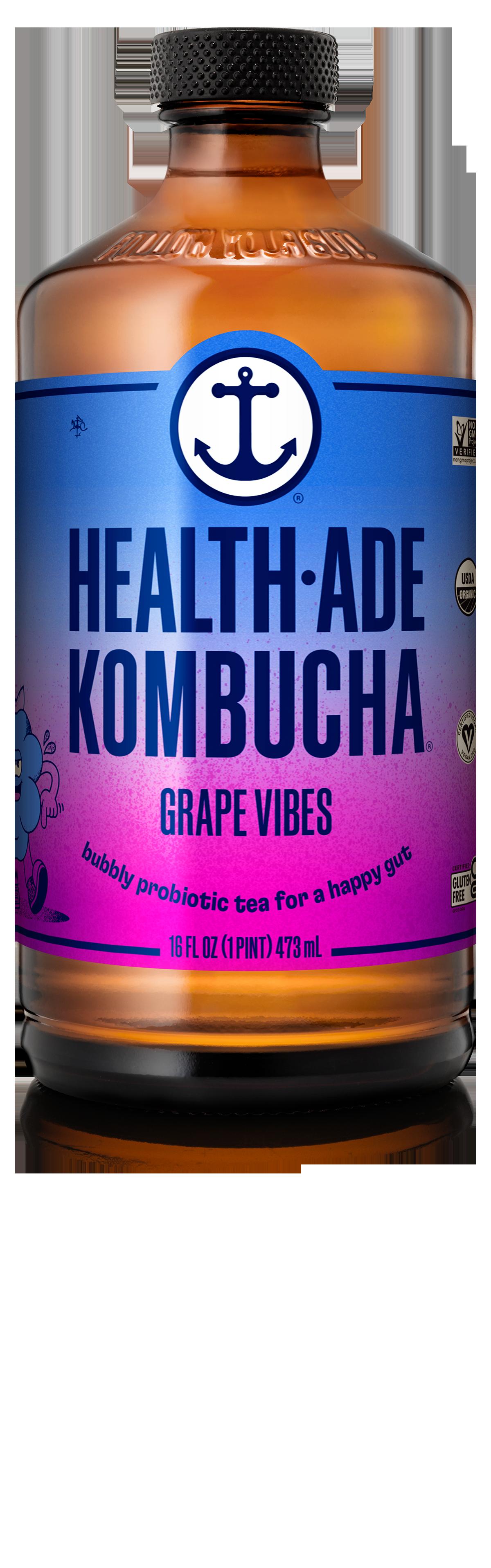 Health-Ade Kombucha Grape Vibes