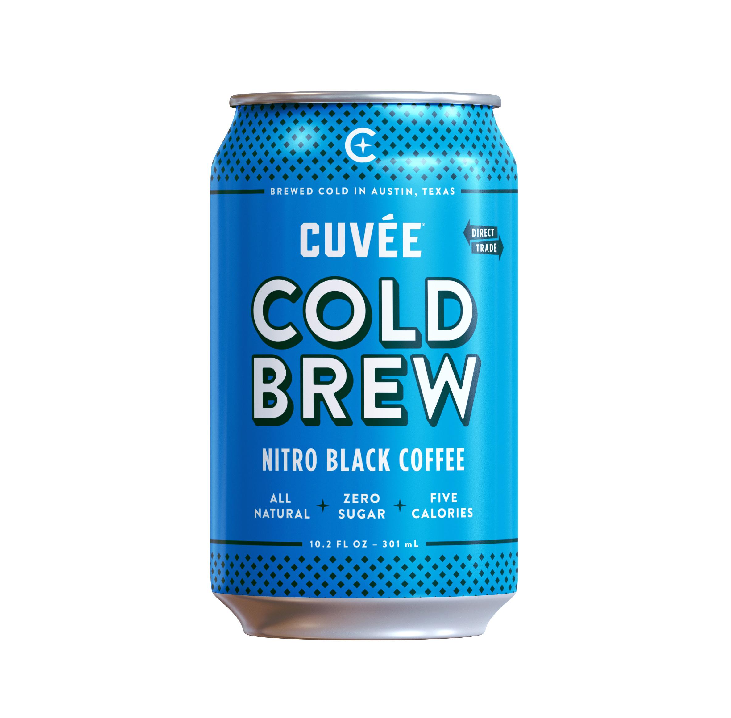 Cuvee Coffee Nitro Cold Brew - Black