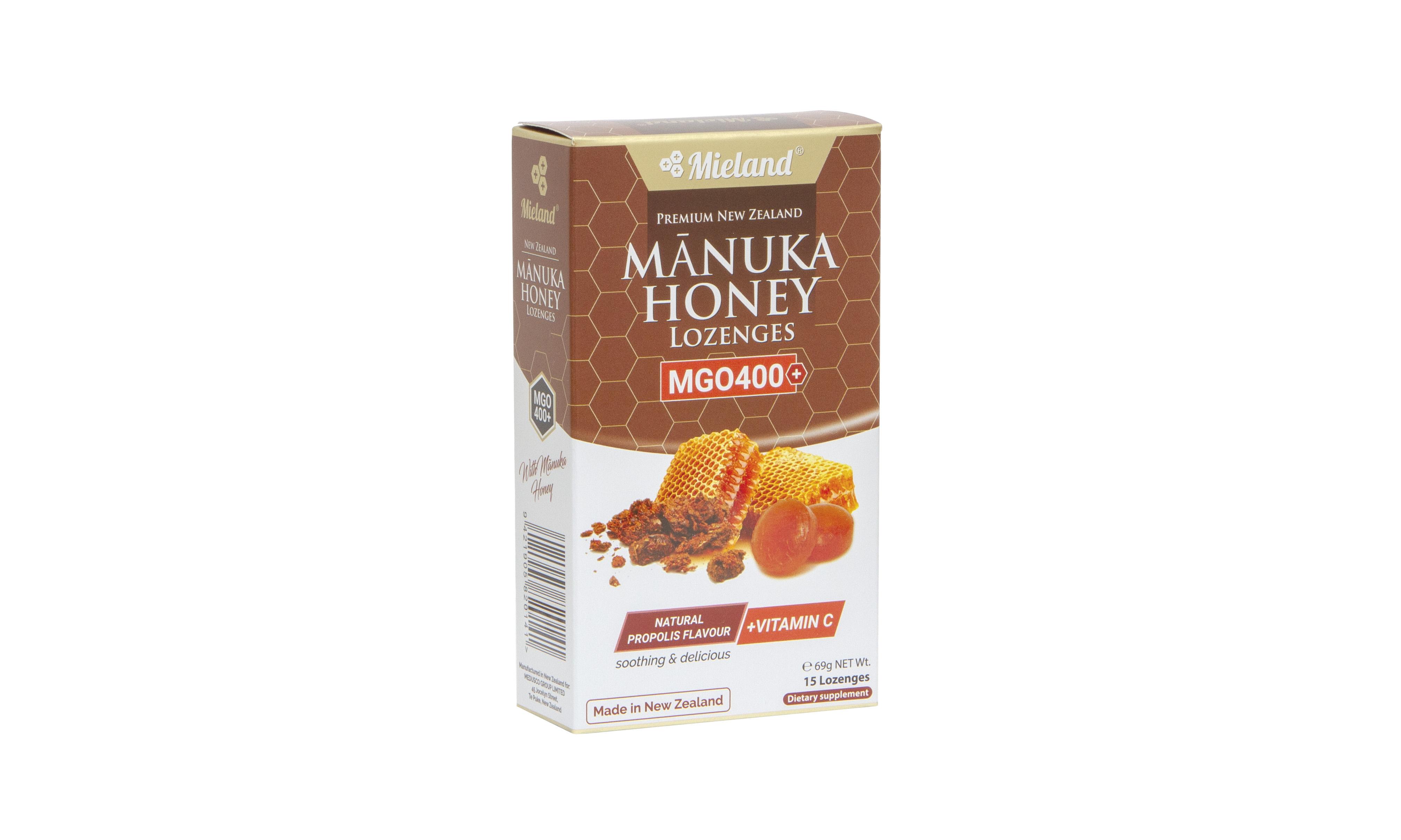 Manuka Honey Lozenges with Propolis flavour