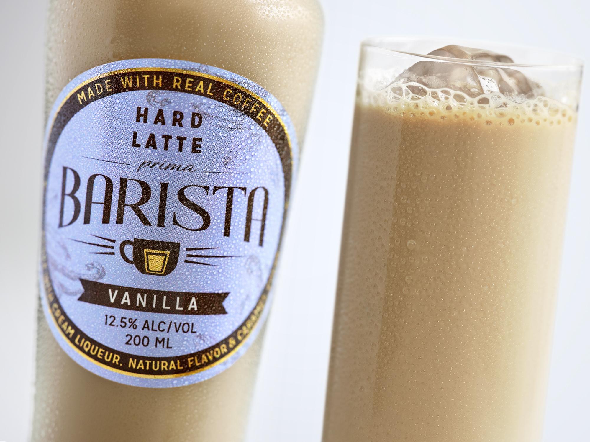 Prima Barista Hard Iced Vanilla Latte