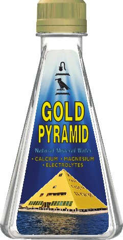 Gold Pyramid Mineral Water