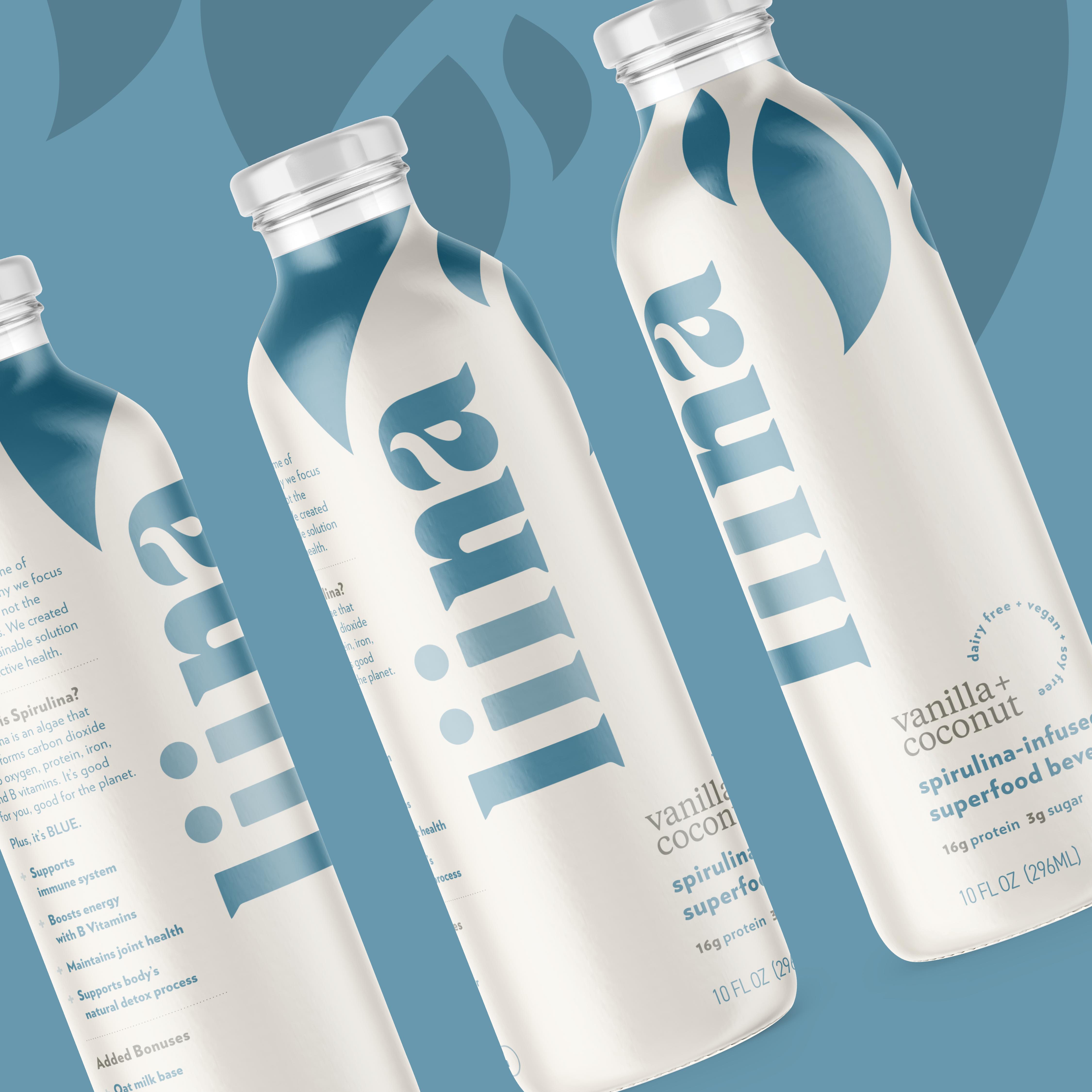 Liina Functional Beverage Branding & Package Design