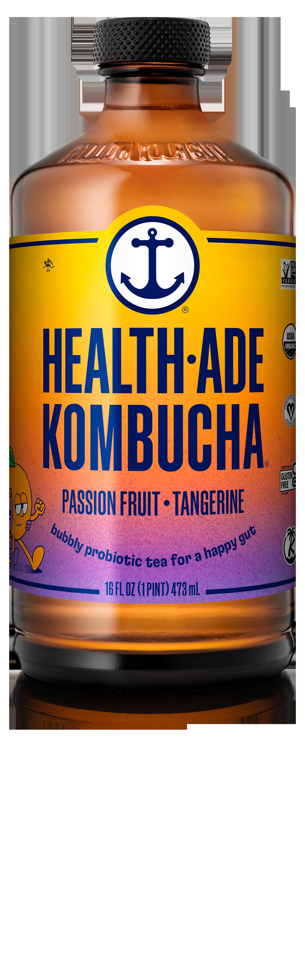 Health-Ade Kombucha Passion Fruit - Tangerine
