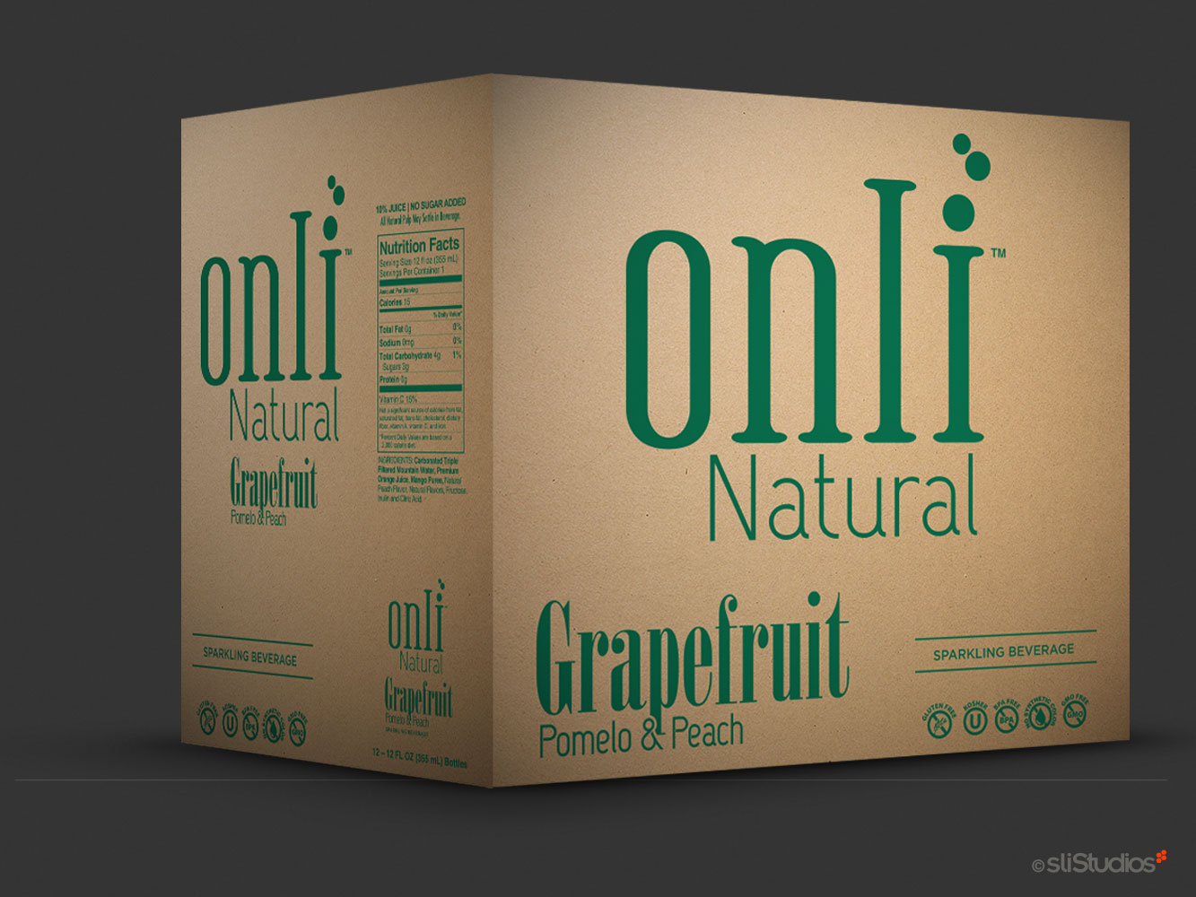 Onli Natural Product Packaging