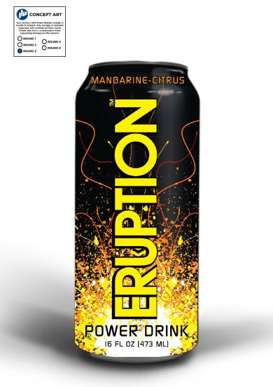 ERUPTION Power Drink