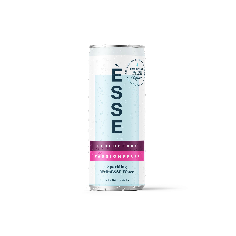Elderberry Passionfruit - Sparkling WellnÈSSE Water