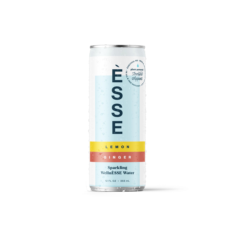 Lemon Ginger - Sparkling WellnÈSSE Water