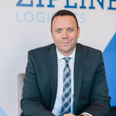 Andrew Lynch, President and Co-Founder, Zipline Logistics -