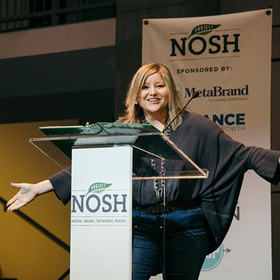 Sarah Palisi Chapin, CEO, Hail Merry - NOSH Live Winter 2018