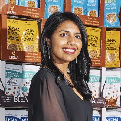 Poorvi Patodia, CEO & Founder, Biena Snacks - NOSH Live Winter 2018