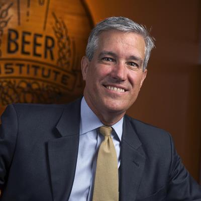 Jim McGreevy, President & CEO, Beer Institute -