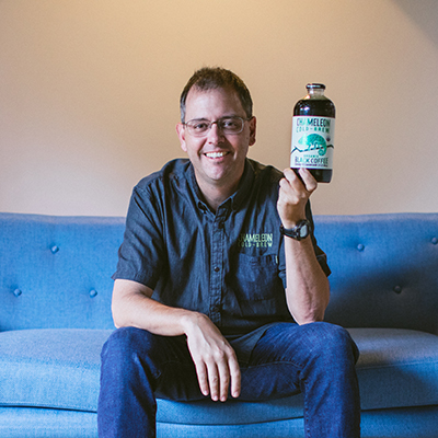 Chris Campbell, Co-Founder, President and CEO, Chameleon Cold-Brew -