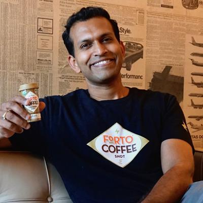 Neel Premkumar, Founder & CEO, FORTO Coffee - BevNET Live Winter 2018