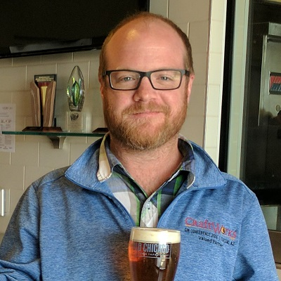 Jonny Stringer, Manager of Beer Operations, Craftworks Restaurants & Breweries - Brewbound Live Winter 2018