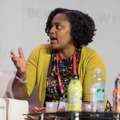 Andrea Tyson, Grocery Merchandising Coordinator, CSD, Kroger - BevNET Live Summer 2019