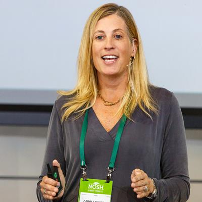 Carole Buyers, Co-Founder & Managing Partner, BIGR Ventures - NOSH Live Winter 2018
