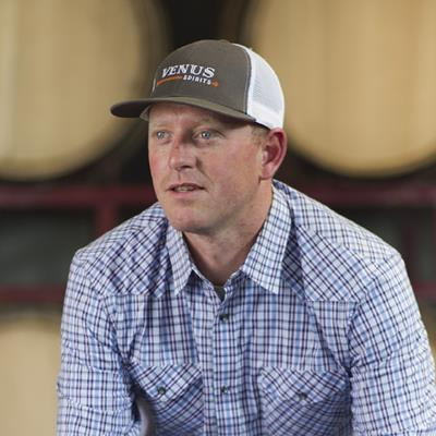 Sean Venus, Founder & Distiller, Venus Spirits -