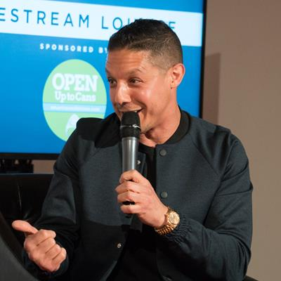 Theo Rossi, Actor / Founder & CEO of Ounce Water, Ounce Water - BevNET Live Summer 2016