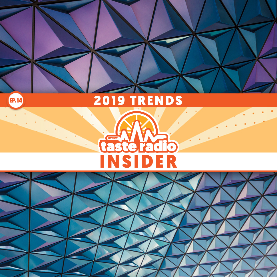 Taste Radio Insider Ep. 14: The Trends That May Shape 2019; A HotShot Takes on The Coffee Biz