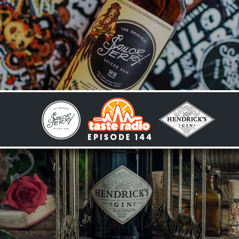 Taste Radio Ep. 144: How The Creator of Sailor Jerry Rum and Hendrick's Gin Builds Iconic Brands