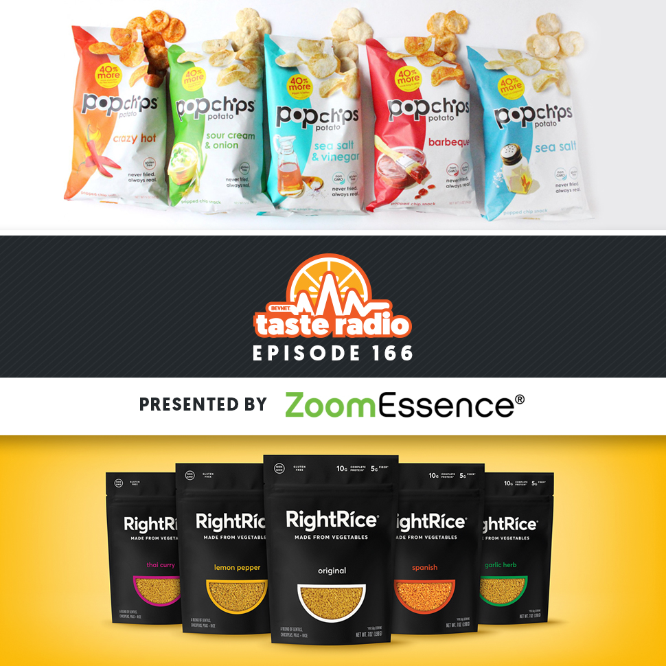 Taste Radio Ep. 166: Popchips/RightRice Founder On Why Success Starts With Passion & Package Design