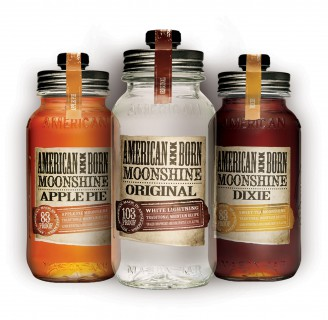 American Born Moonshine bottles