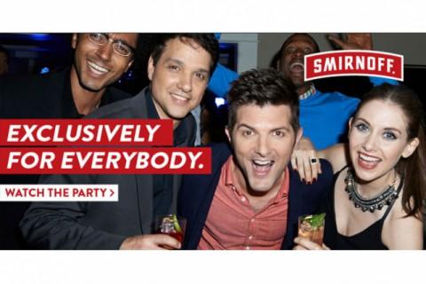Smirnoff Exclusively For Everybody