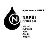 NAPSI-Certified Maple Water