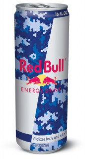 RED BULL CAMO CAN 2014