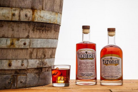 Tatoosh Distillery And Spirits Bottles