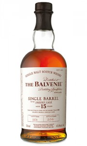 The Balvenie 15 Year Old Single Barrel Sherry Cask bottle