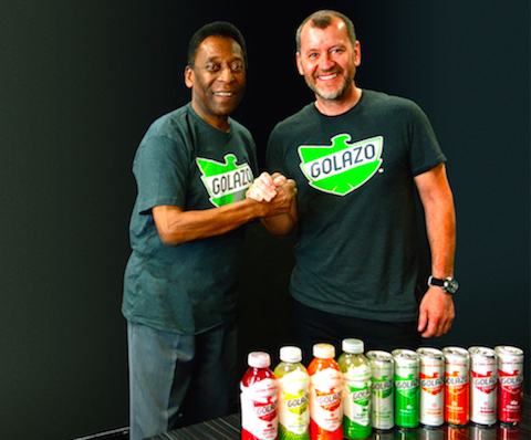Pelé Partners With Golazo