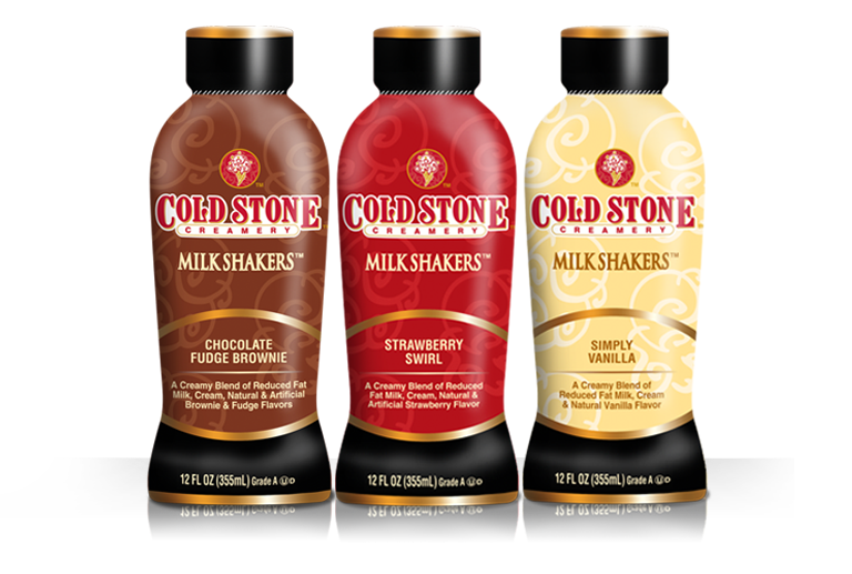 Cold Stone Creamery Launches Milk Shakers