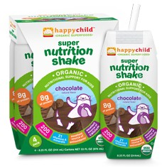 Happy Family Kids' Nutrition Shakes