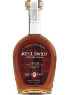 John J. Bowman Virginia Straight Bourbon Whiskey