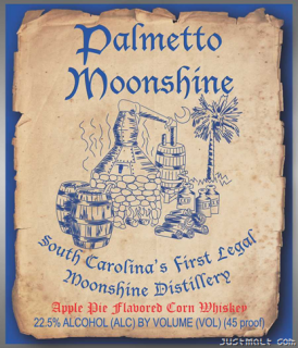 Palmetto Moonshine logo