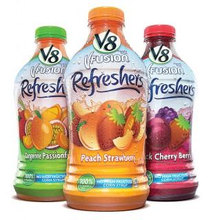 V8 V-Fusion Refreshers a