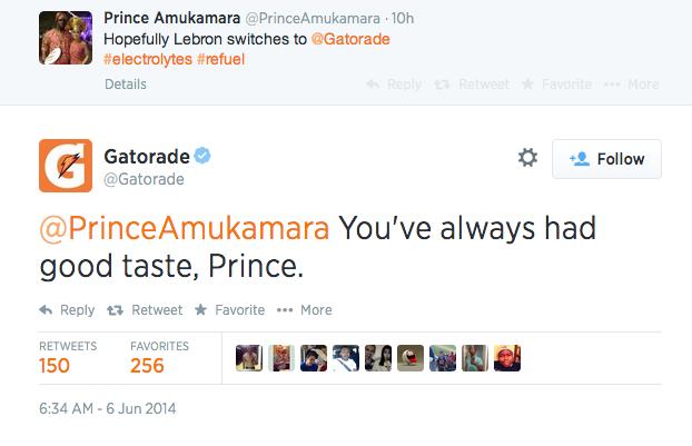 prince gatorade