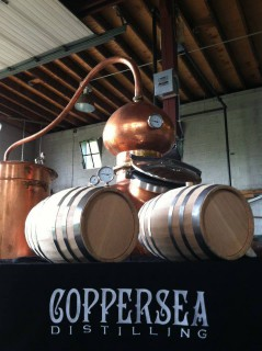 Coppersea Distilling Uses New York-Grown Oak Barrels for New Whiskies