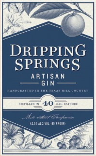 Dripping Springs Gin