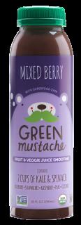 Green Mustache Mixed Berry
