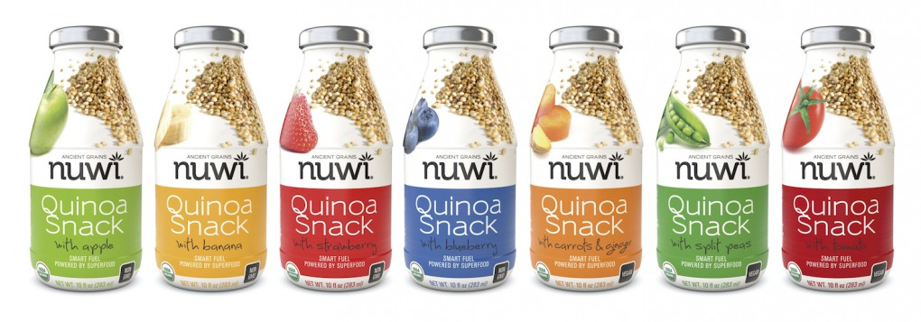 Nuwi Quinoa Drinkable Snacks Introduces Three New Flavors